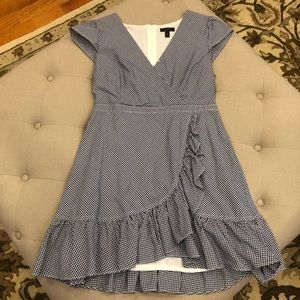 JCrew Gigham Dress Sz 10 Petite